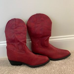 Red Rampage Cowboy Boots